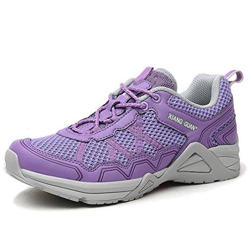 XIANG top Stil Violett GUANNeu mode Low sport outdoor professional Donna funktions qA6fq