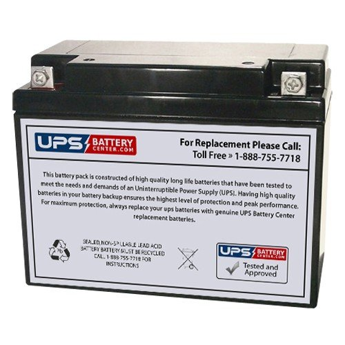 6V 20Ah NB - Compatible Battery for Power-Sonic PS-6200 by UPSBatteryCenter