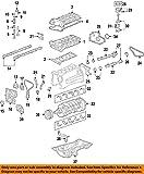 General Motors 12591633, Engine Valve Cover Gasket