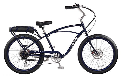 "Pedego Comfort Cruiser 26"" Classic Midnight with Black Balloon Package 36V 15Ah"