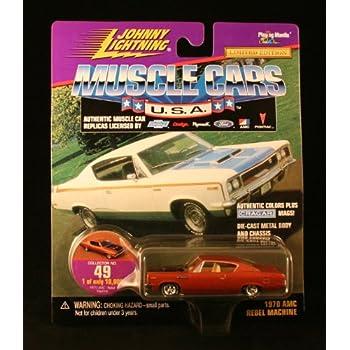 Amazon com: 1970 AMC REBEL MACHINE * COLLECTOR NO  49