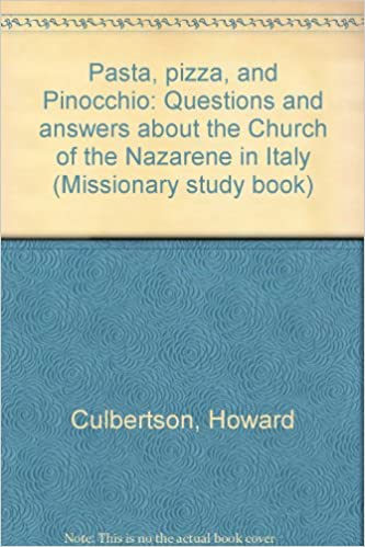 Pasta, pizza, and Pinocchio: Questions and answers about the