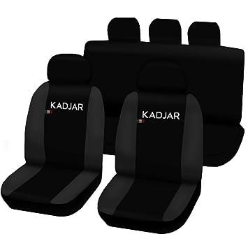 Sitzbezüge dunkel grau hinten KOS SEAT LEON