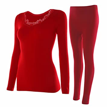 LVLIDAN Mujer Ropa interior térmica Manga larga pantalón invierno Color sólido sección delgada body sculpting todo