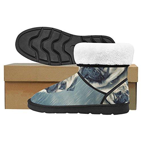 InterestPrint Womens Snow Boots Unique Designed Comfort Winter Boots Multi 21 tkCHnL1mUB
