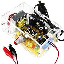 ZQ100WT LM317 Adjustable Regulated Voltage 220V to 1.20V-12V Step-down Buck Power Supply Module PCB Board Electronic Kits DIY Kit