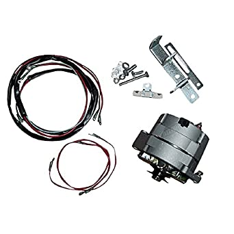 amazon com: m super m farmall tractor alternator conversion kit 6 v to 12 v  system new 63a: industrial & scientific