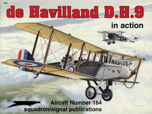 de Havilland D.H. 9 in action - Aircraft No. 164