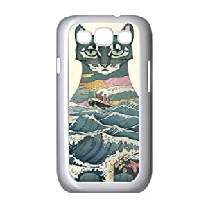 Case For Samsung Galaxy S3, Cats Case For Samsung Galaxy S3, White Yearinspace128062