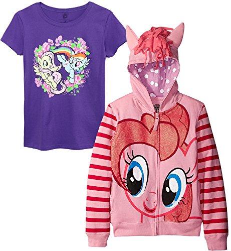 My Little Pony Big Girls' Pinky Pie Hoodie