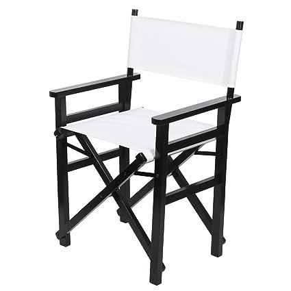 Silla de director plegable, silla para maquillador, silla ...