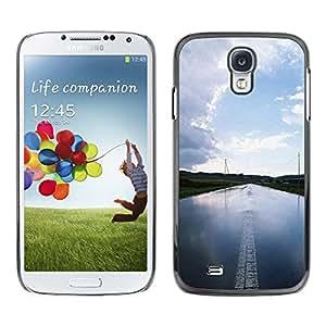 "For Samsung Galaxy S4 , S-type Agua Carretera"" - Arte & diseño plástico duro Fundas Cover Cubre Hard Case Cover"