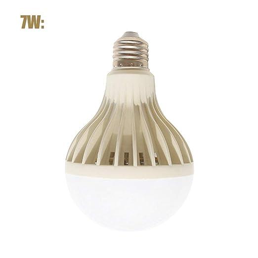Funnyrunstore Lámpara LED PIR Movimiento infrarrojo/Sonido + Control de sensor de luz 3W 5W