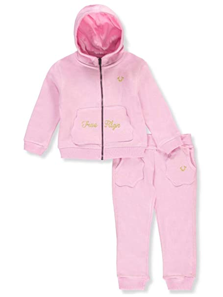 3d033775a True Religion Baby Girls  2-Piece Sweatsuit Pants Set - Pink