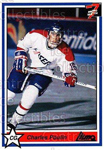 (CI) Charles Poulin Hockey Card 1990-91 7th Inning Sketch QMJHL 220 Charles Poulin ()