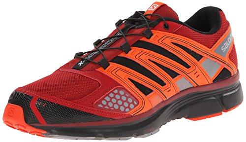 7230f967ecd6 Salomon Mens X Mission 2 Chaussure De Course Aux Puces   Tomate Rouge   Noir