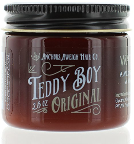 Anchors Hair Company Teddy Boy Original Water Based Styling Pomade 2.5oz (Based Company Who compare prices)