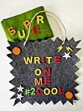 birdyboutique.com Letter Board Kids Boys Letterboard Educational Message Board Toddlers Tweens Phonics Make Words Reusable Activity Hanging Felt Sign