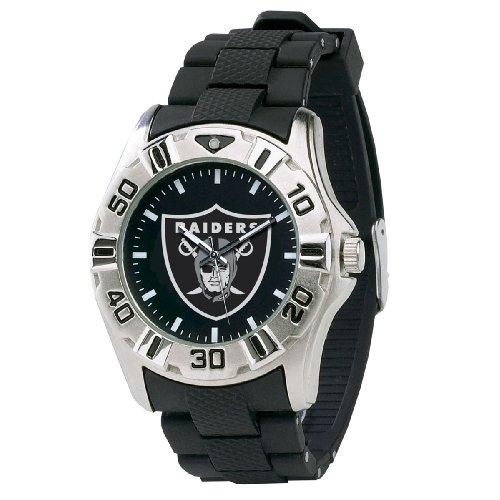 NFL Men's NFL-MVP-OAK Series Oakland Raiders Watch (Nfl Stainless Steel Wrist Watch)