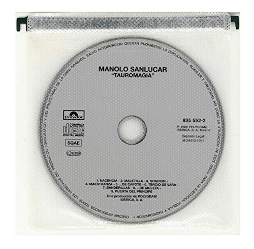 Amazon.com: Tauromagia by Sanlucar, Manolo (1989-08-28?: Music