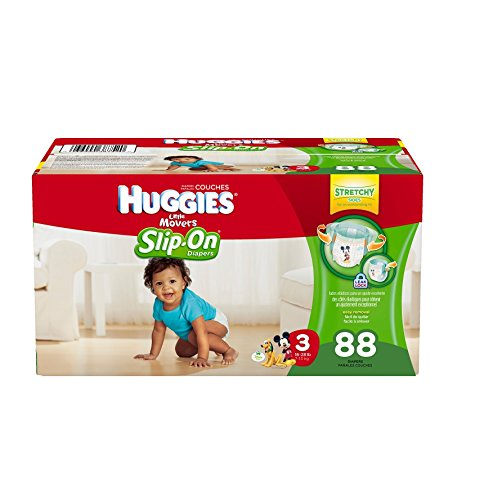 Huggies Little Movers, Slip on Diapers, Size