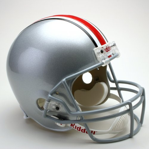 (NCAA Ohio State Buckeyes Deluxe Replica Football Helmet)