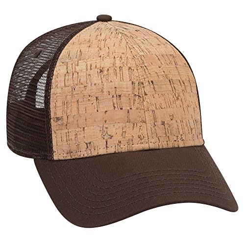 (Product of Ottocap Five Panel Low Profile Melton Wool Blend Cap -D.BRN/Cork/D.BRN [Wholesale Price on Bulk])