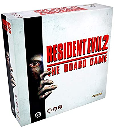 Amazon Com Resident Evil 2 The Board Game Toys Games