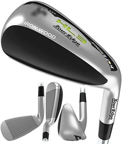 Tour Edge Men s HL3 Iron-Wood, Right Hand, Regular, Graphite, 4 Hybrid