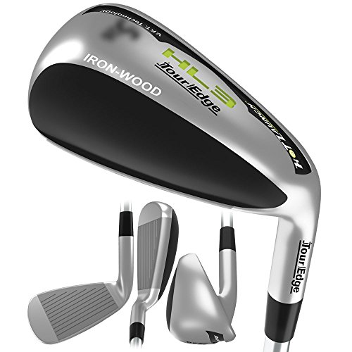 Tour Edge Men's HL3 Iron-Wood, Right Hand, Regular, Graphite, 2 Hybrid - Tour Iron Head