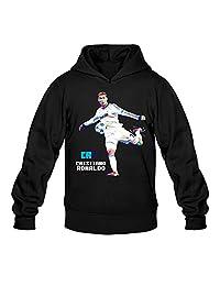 RIen Men's Cristiano Ronaldo CR7 Soccer WPAP Hoodie
