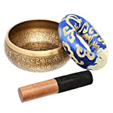 Handmade Singing Bowl Set From Nepal, Perfect For Meditation, Yoga, And Chanting - Being Zen