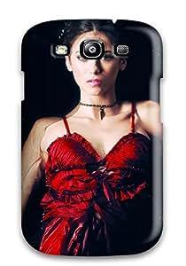 ITlUBPw9473pYcbb Faddish Nina Dobrev 3 Case Cover For Galaxy S3