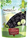 Organic Pitted Prunes — Dried California Plums, Non-GMO, Kosher, Unsulfured, Unsweetened, Bulk (by Food to Live) (1 Pound)