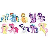 Generic Party Propz My Little Pony Cardstock Cutout - Set Of 10