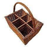6 Way Wine Holder Basket (Set of 10) 16 x 12 x 8 in