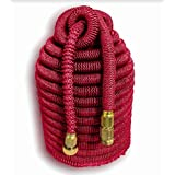 Tuff! Hose Ruby Edition. 100' Expandable Hose. The Toughest, Longest Lasting Expanding Hose on the Planet with 3/4
