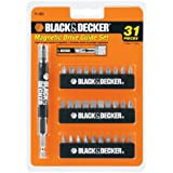 Black & Decker 71-933 Magnetic Drive Guide Set, 31-Piece