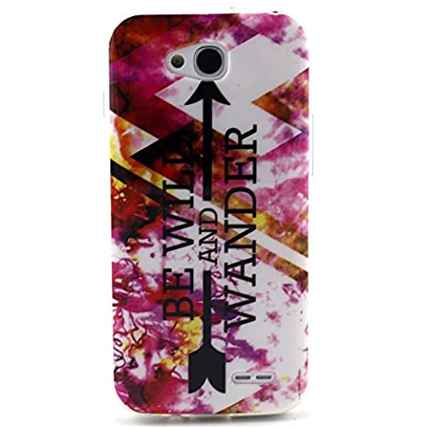 lg l90 case, Style Hybrid Fancy Colorful Pattern Hard Soft Silicone Back Case Cover Fit for LG Optimus L90 (Covers Lg Optimus L90)