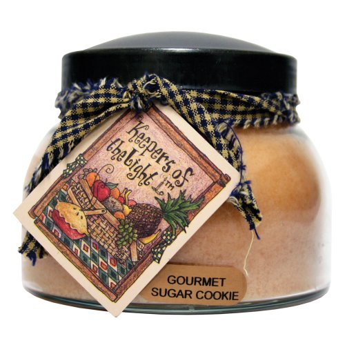 A Cheerful Giver Gourmet Sugar Cookie Mama Jar Candle, 22-Ounce by A Cheerful Giver