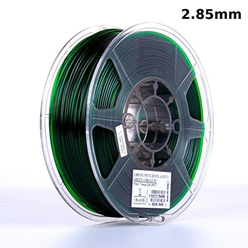 eSUN Filament Printer Diameter Semi transparent