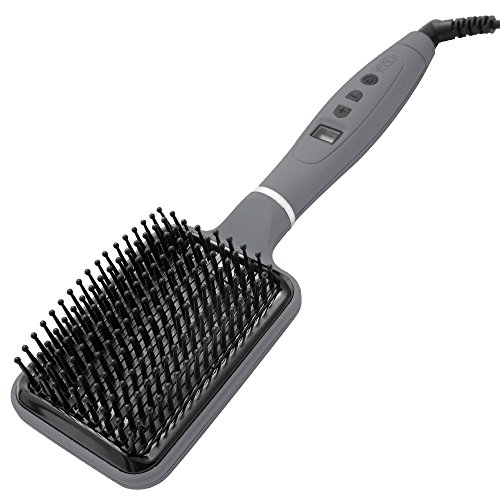 Calista Tools Perfecter Heated Paddle Brush, Grey, 3 lb.
