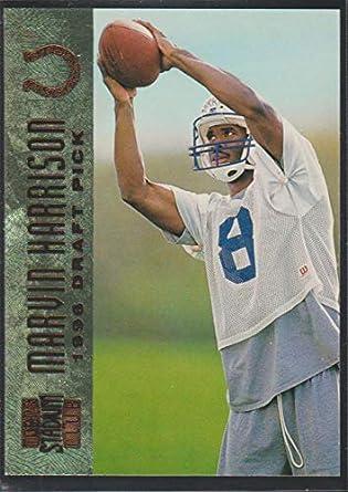 Amazoncom 1996 Topps Stadium Club Marvin Harrison Colts