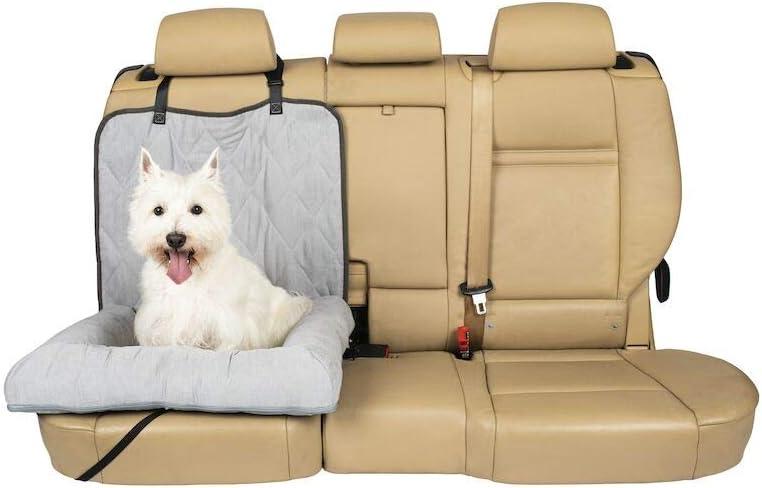 Petsafe Solvit Autositzbezug Für Hundebett Bank Eimerbezug Für Autos Suvs Und Lkw Eimer Small Grau Haustier
