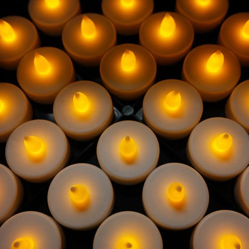 48-Flameless-Battery-Christmas-LED-Tea-Lights-Flickering-
