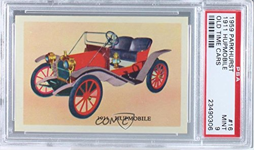 GRADED 9 (Trading Card) 1959 Parkhurst Old Time Cars - [Base] #16 ()