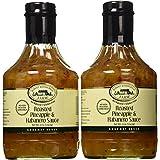 Roasted Pineapple & Habanero Sauce, 2 37 Ounce Bottles