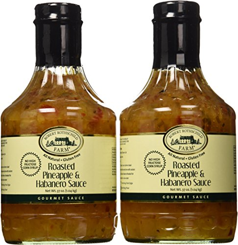 Pineapple Sauce Ham - Roasted Pineapple & Habanero Sauce, 2 37 Ounce Bottles