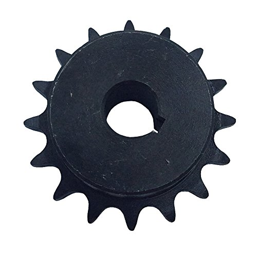 Chain Sprocket Pitch - KOVPT # 40 Roller Chain Sprocket 14 Teeth B Hub Type Bore 0.625 Inch Pitch 1/2