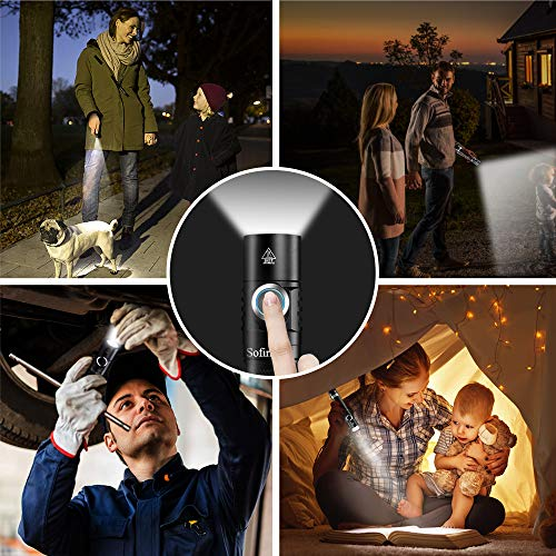 Sofirn SC31B 1000 Lumens USB Rechargeable LED Flashlight with 18650 Battery